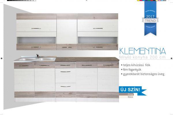 Divian Klementína felnyílós elemes