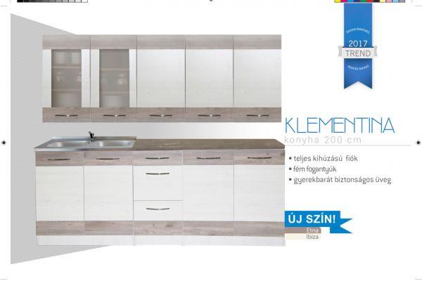 Divian Klementina sima nyílós elemes
