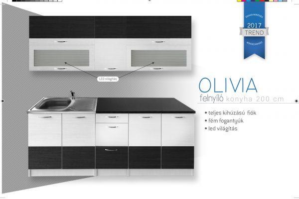 Divian OLIVIA felnyílós elemes