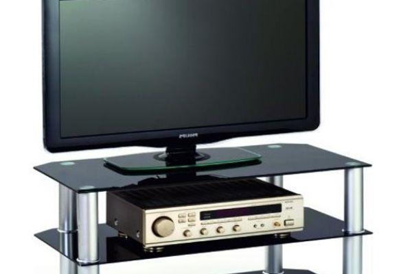 Halmar RTV 21 fém-üveg Tv állvány
