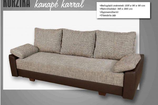 WILU Korzika karos kanapéágy