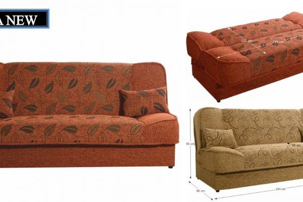 Asia New kanapé