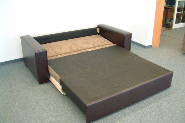 Sofart előre nyíló kanapéágy nyitott